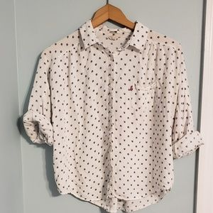 Levi's button up shirt